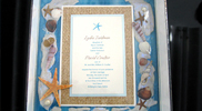 Bridal Keepsake Boxes and Framed Wedding Invitations 02