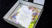 Bridal Keepsake Boxes and Framed Wedding Invitations 04