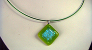 Fused Dichroic Glass Jewelry 07