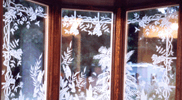Sandblasted and Etched Glass 05