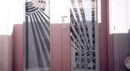 Sandblasted and Etched Glass 08